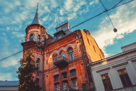 Замок Барона в Киеве