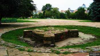 Останки языческого капища на Старокиевской горе