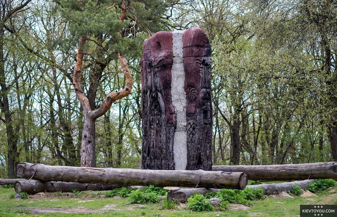 Лысая Гора на Выдубичах - одно из самых мистических мест Киева