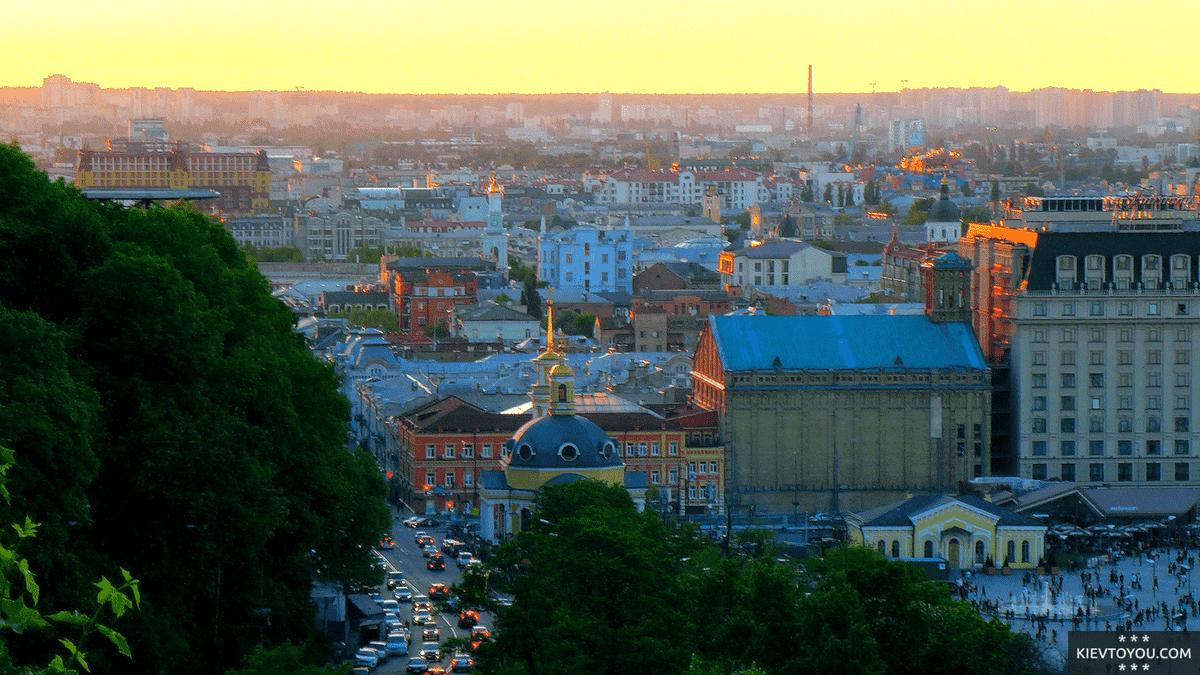 Подол - исторический и культурный центр Киева