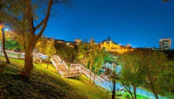 Лестница к Пейзажной аллее в Киеве