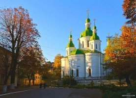 Кирилловская церковь - одна из старейших в Киеве