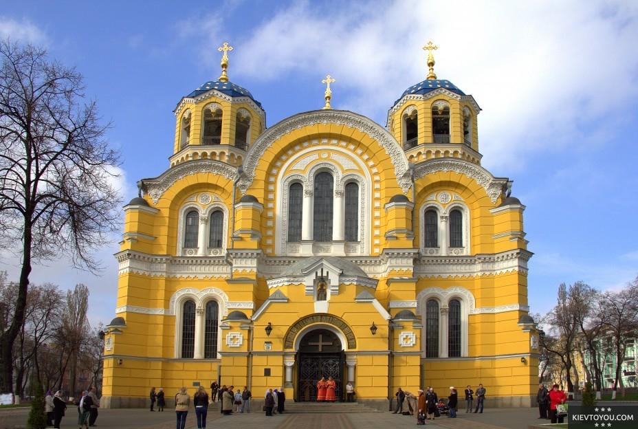 Владимирский собор в Киеве был открыт в 1896 году