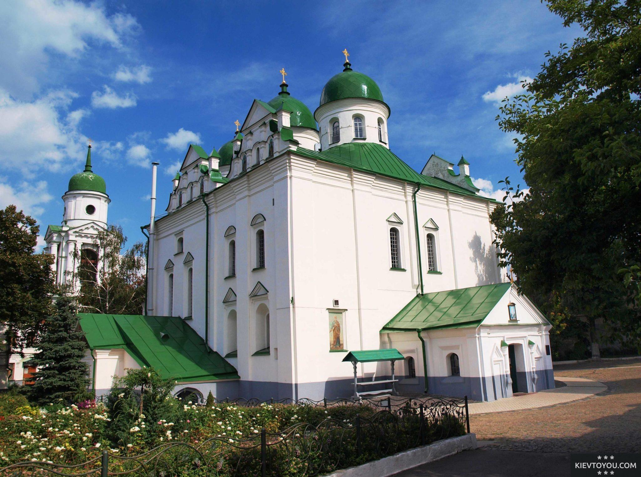 Флоровский женский монастырь в Киеве