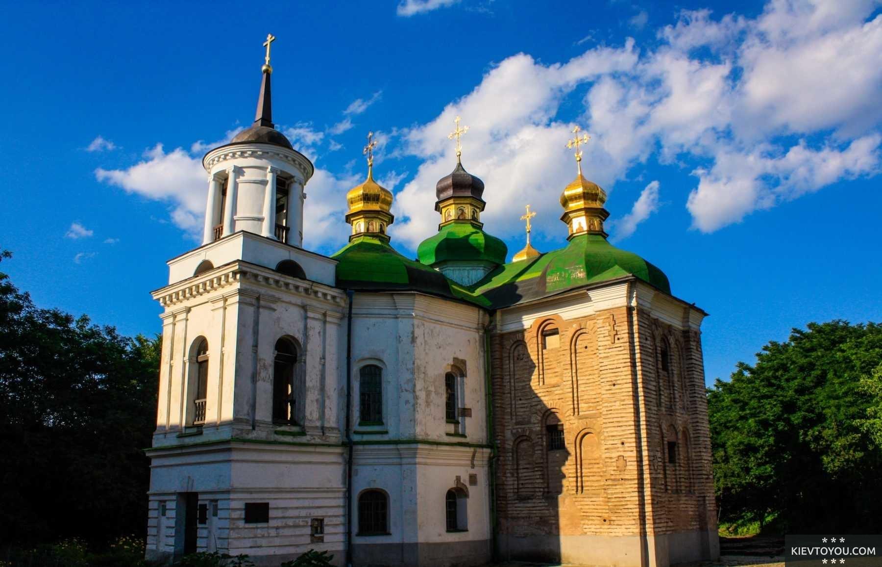 Церковь Спаса на Берестове в Киеве, современное фото