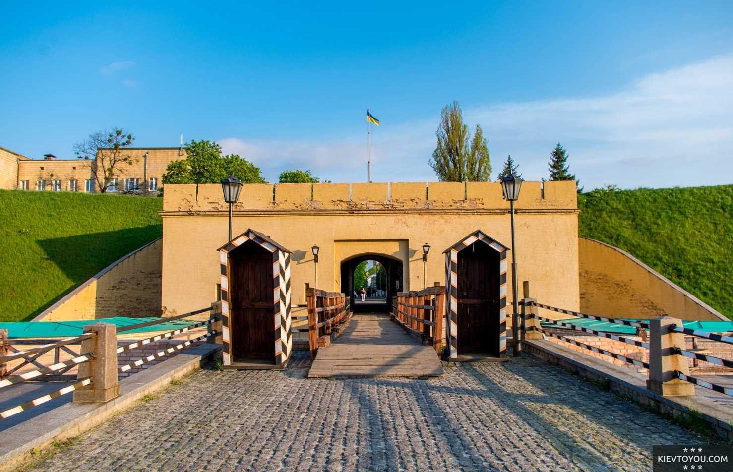 Киевская крепость является одной из крупнейших в мире