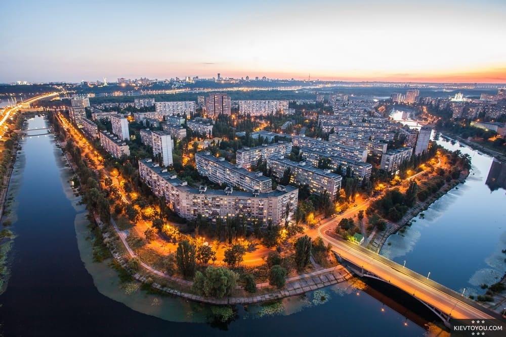 История Русановки в Киеве