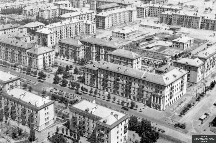 История застройки Дарницы в Киеве