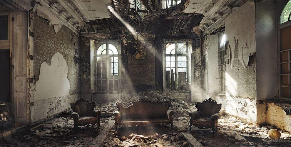 Самые атмосферные заброшенные здания Киева