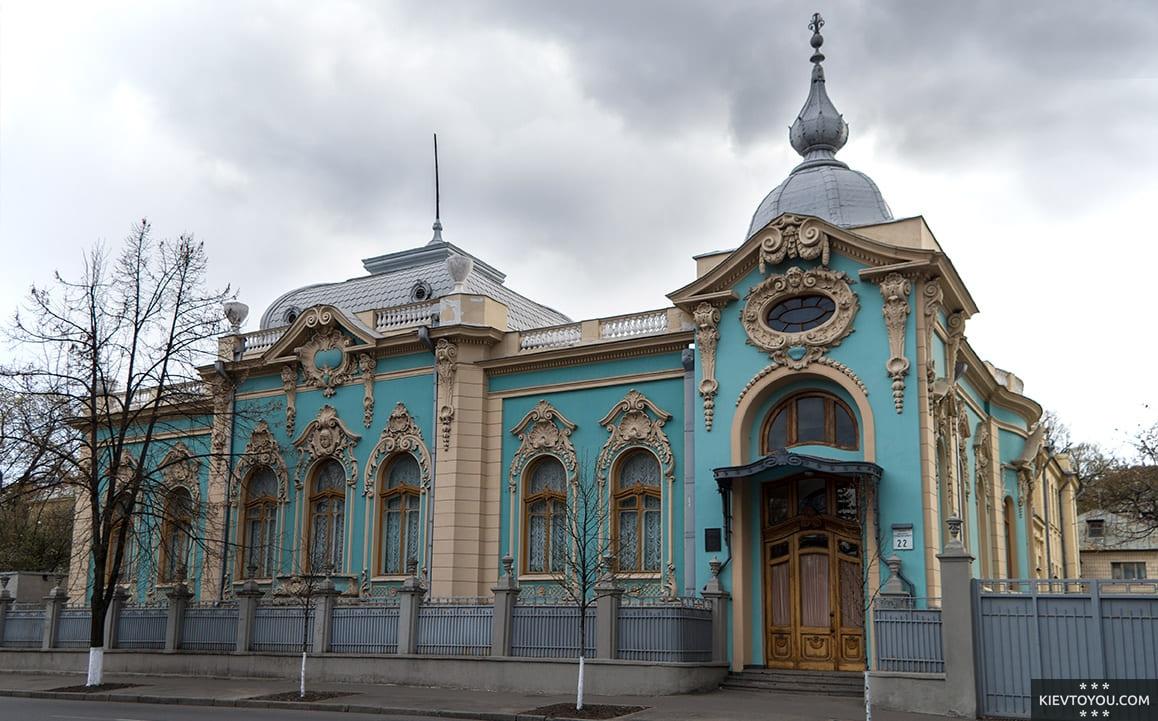 Современное фото особняка Полякова