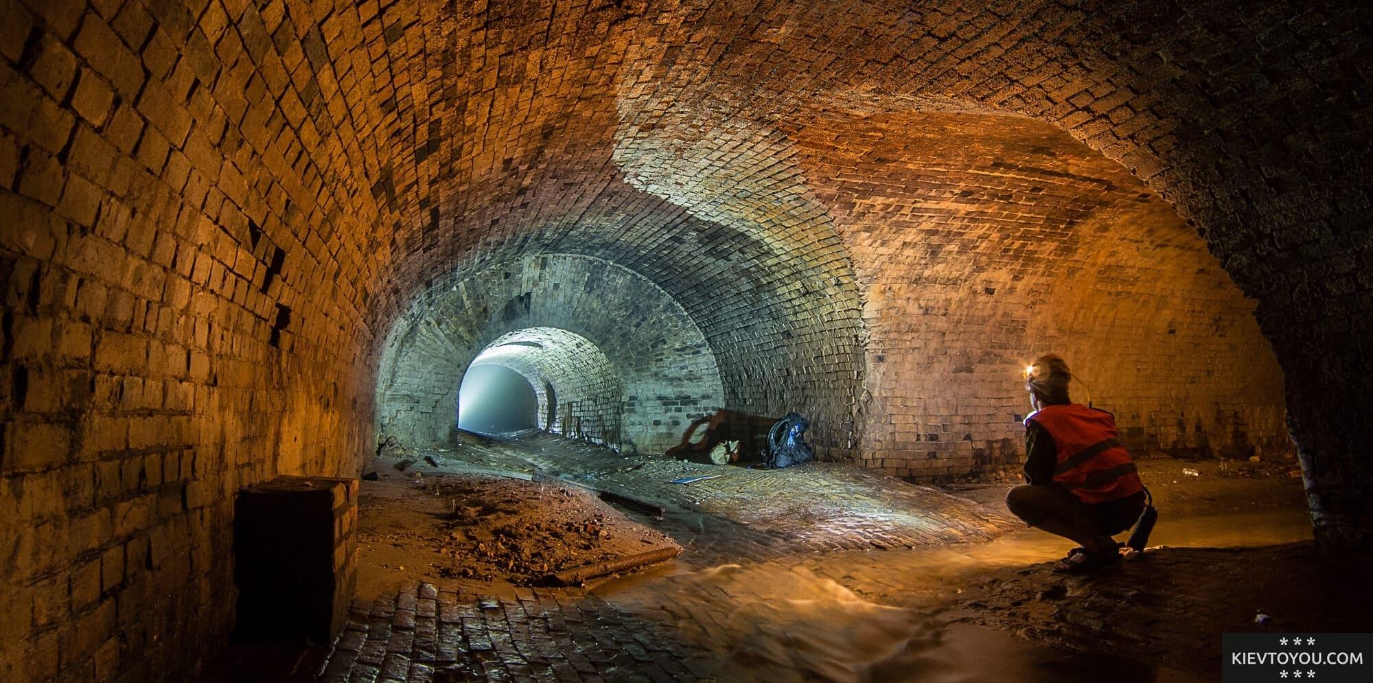Подземные лабиринты Киева