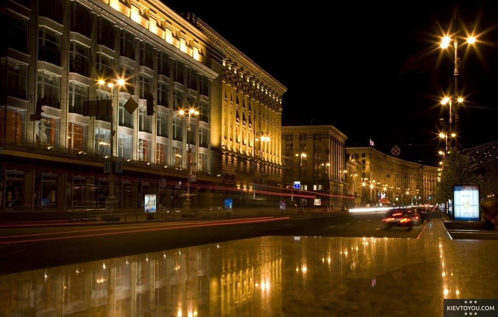 Административные здания в центре Киева