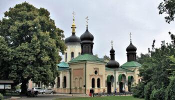 Внешний вид Ионинского монастыря в Киеве