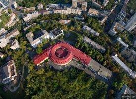 Вид на башню с воздуха